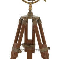 Coolest Brass Wood Armillary