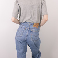 Vintage (SMALL) Levis 550 High Waisted Denim Jeans