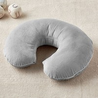 Solid Gray Boppy® Nursing & Infant Support Pillow & Slipcover
