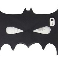Genesong Nice Gift Silicone Face Mask Phone Case New Design in Batman for Iphone 5/5s