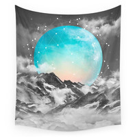 Society6 It Seemed To Chase The Darkness Away Wall Tapestry