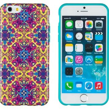 """iPhone 6 Case, DandyCase PERFECT PATTERN *No Chip/No Peel* Flexible Slim Case Cover for Apple iPhone 6 (4.7"""" screen) - LIFETIME WARRANTY [Ornamental Floral Paisley]"""