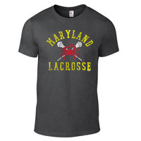 Lacrosse - Maryland Crab Lacrosse Short Sleeve Tee