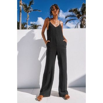 TULUM BLACK JUMPSUIT