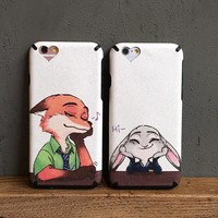 Hot Sale Hot Deal Cute On Sale Iphone 6/6s Stylish Animal Iphone Couple Apple Silicone Soft Phone Case [6034113665]
