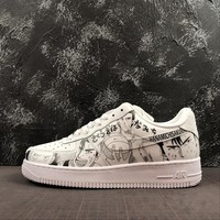 "Nike Air Force 1 '07 Low AF1 With ""SLAM DUNK"" Print - Best Online Sale"