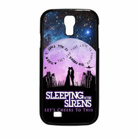 Sleeping With Sirens Infinity Quote Galaxy Sky Samsung Galaxy S4 Case