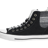 Converse Womens Chuck Taylor All Star Chelsee Shearling Sneaker