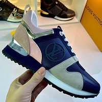 lv louis vuitton womans mens 2020 new fashion casual shoes sneaker sport running shoes 252
