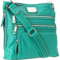 Tyler Rodan Kingston Cross Body,Pine Green,One Size