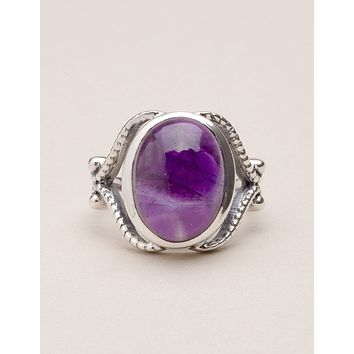 Vintage Amethyst Ring - Sizes 7, 8 and 9