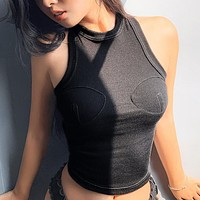 2020 New Women's Sexy Sleeveless Slim Fit Top