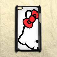 Hello Kitty Cute Red Bow iPod Touch 4 Case
