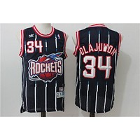 Houston Rockets 34 Hakeem Olajuwon Swingman Jersey