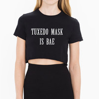 Tuxedo Mask is bae croptop, crop, cropped t-shirt, sailmoon, sailor moon, black croptop