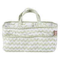 Diaper Caddy  - Sea Foam Storage Caddy