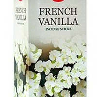 Hem French Vanilla Incense, 120 Sticks Box