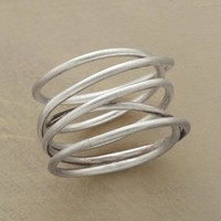 Handcrafted Twists & Turns Coil Ring   Robert Redford's Sundance Catalog