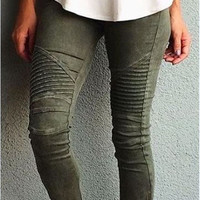 New style autumn fashion jeans Full Length Pencil Pants Zipper skinny causal style