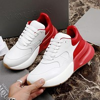 Alexander McQueen Coloured Broad Sports Shoes-5