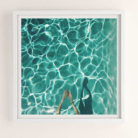 Max Wanger Diver Art Print   Urban Outfitters