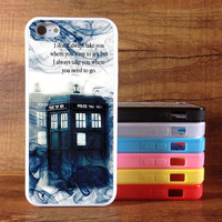 Doctor Who Phone Cases iPhone 5 case iPhone 5s case iPhone 5c case plastic / Rubber case - Phone Cases iPhone 5 5s 5c Cover