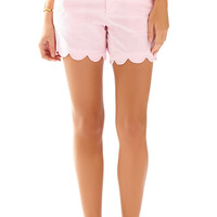 Lilly Pulitzer 5 Inch Seersucker Buttercup Short