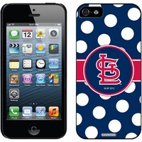 Coveroo, Inc. St. Louis Cardinals Polka Dots iPhone 5 / 5S Thinshield Snap-On Case
