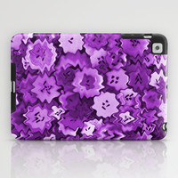 Button Wave iPad Case by Alice Gosling
