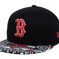 Boston Red Sox MLB Cross Colors 9FIFTY Snapback Cap