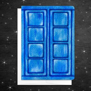 """""""Hello Sweetie"""" Doctor Who Card"""