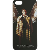 Supernatural Castiel iPhone 5 Case