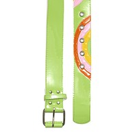 Green Rainbow Baby Belt
