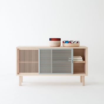 KYOTO sideboard in solid beech - COLONEL