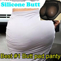 Silicone Buttocks Pads Butt Enhancer body Shaper Panty Tummy Control Girdle