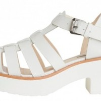 Windsor Smith - Lily White Leather - Womens