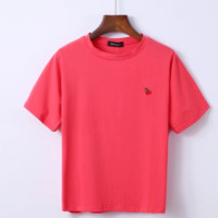 The summer's collection of the new baggy, embroidered T-shirt and t-shirts