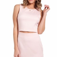 Abby dress in baby pink
