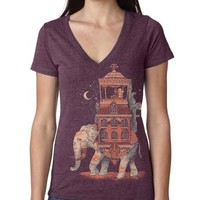 Women's Trunk of Treasure V-Neck on the redditgifts Marketplace