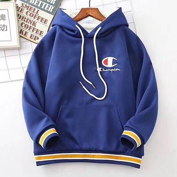 Champion Girls Boys Children Baby Toddler Kids Child Fashion Casual Top Sweater Pullover Hoodie