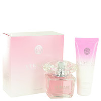 Bright Crystal Perfume by Verace Gift Set