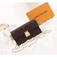 LV Louis Vuitton WOMEN'S MONOGRAM CANVAS S Lock WAIST BAG SHOULDER BAG