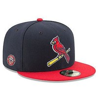 St. Louis Cardinals New Era 59FIFTY 125th Anniversary MLB Cap Hat Fitted 5950