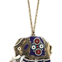 ModCloth Boho Elephant-abulous Necklace