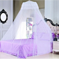 Baby Bedding crib mosquito net Summer Baby Bed Mosquito Mesh Hung Dome Curtain Net for Toddler Crib Cot coloful optional