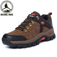 NaturalHome Sports Professional Waterproof Hiking Shoes Outdoor Mountain Boots Men Women Walking Shoes Camping Boots