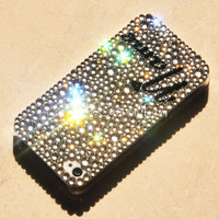 Original Personalized White Crystal Bling Bling Phone Case