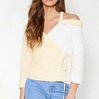 Let's Keep Things Splicey Striped Top