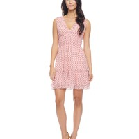 Glam Dot Mesh Flirty Dresss by Juicy Couture