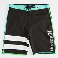 Hurley Block Party Core Mens Boardshorts Black  In Sizes